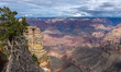 Handsome scenic view of breathtaking landscape in Grand Canyon National Park, Arizona. US