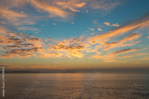 Sunrise over Baja Poster