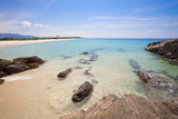 beautiful sand and sea, tropical beach in phang nga thailand