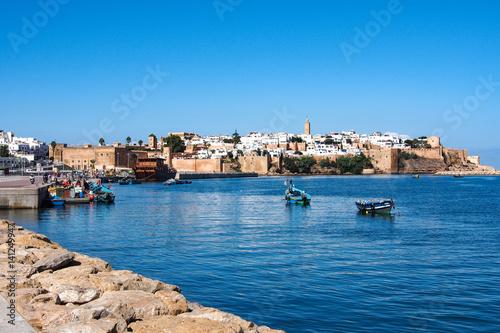 Fotobehang Marokko Marokko - Hafen von Rabat