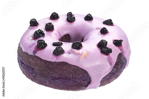 Blueberry donut sweet bakery