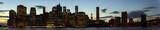 New York Evening Skyline