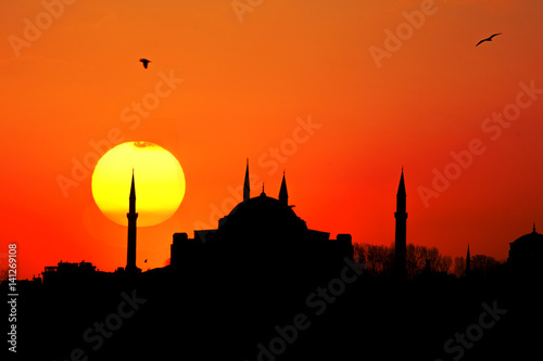 Hagia Sophia Sunset