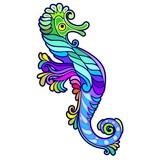 Seahorse Tattoo Decorative