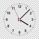 Clock icon vector illustration. Office clock on isolated background. - 141282182