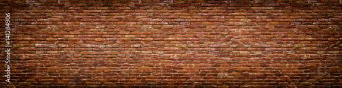 Papiers peints Photos panoramiques grunge brick wall, old brickwork panoramic view