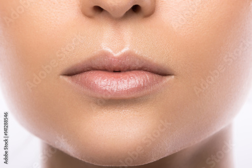 Beautiful female lips Poster