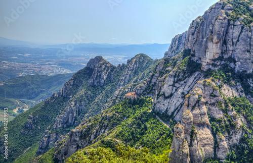 Poster Montserrat Mountain
