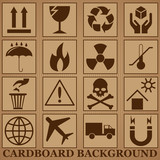 cardboard background - 141294374