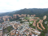 Bogotá, Usaquen, Santa Ana desde él aires