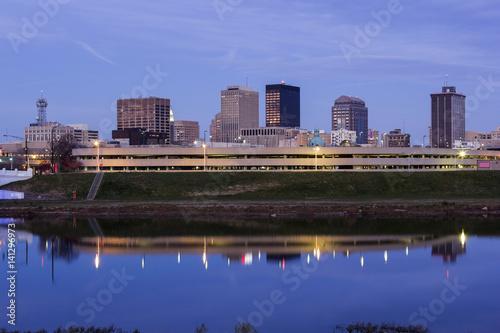 Evening in Dayton, Ohio