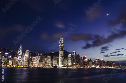Poster Hong Kong Skyline