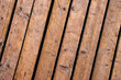 Weathered outdoor patio wooden flooring texture