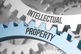 intellectual property / Cogwheel / Metal / 3d - 141334922