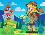 Scout girl theme image 7