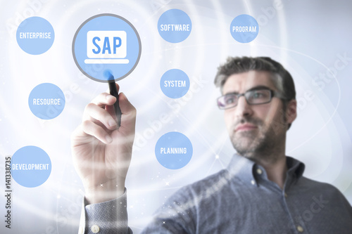 Fototapeta SAP Systems, Applications, Products in Data Processing