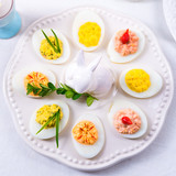 stuffed eggs - 141339583