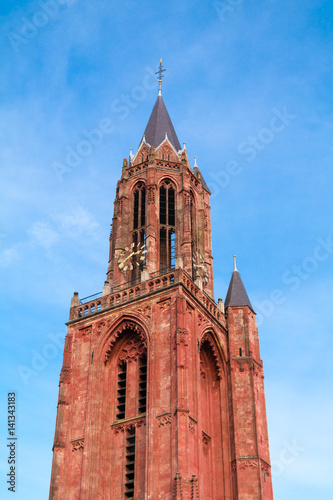 Tower of St Johns Church in Maastricht, Netherlands Photo by TasfotoNL