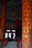 inside view of the Hall of Prayer for Good Harvests in The Temple of Heaven