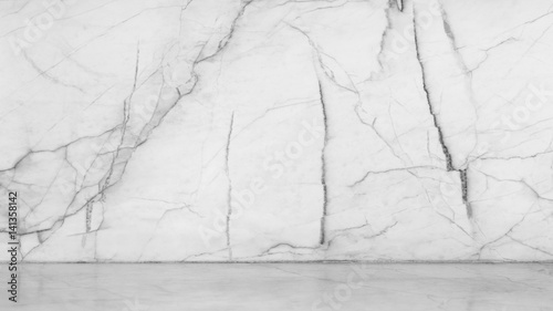 white background from marble stone texture floor for design