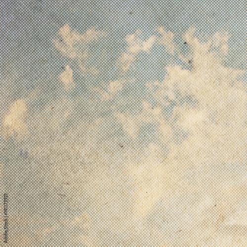 Fototapeta vintage clouds