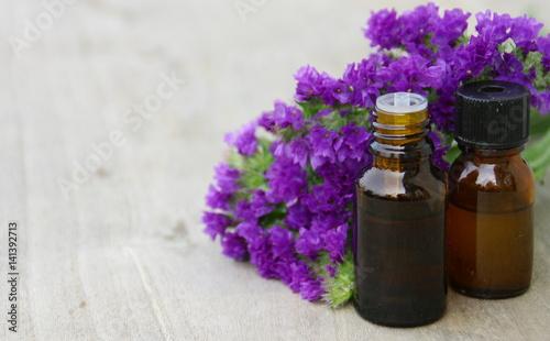 Plexiglas Lavendel huile essentielle de
