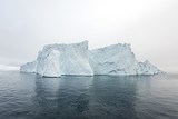 view of the iceberg in Ilulissat, Greenland