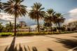 Hallandale beach Skyline in Florida