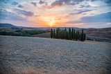 panorama of the Tuscan land in Italy