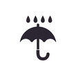 Keep dry delivery icon vector illustration graphic design