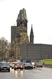 Gedachtniskirche - Kaiser Wilhelm Memorial Church in Berlin. Germany