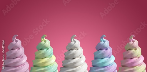 Composite image of 3d composite image of a cupcake