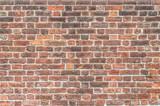 Old red brick wall - Vecchio muro di mattoni rossi