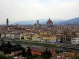 Panoramica di Firenze da Piazza Michelangelo.