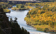 Mountain River with Fall Colors, Missouri River