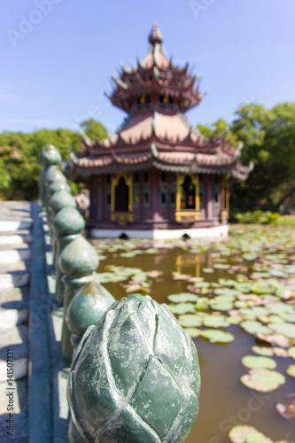 Pagoda china and bridge