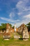 The buddha stone stand