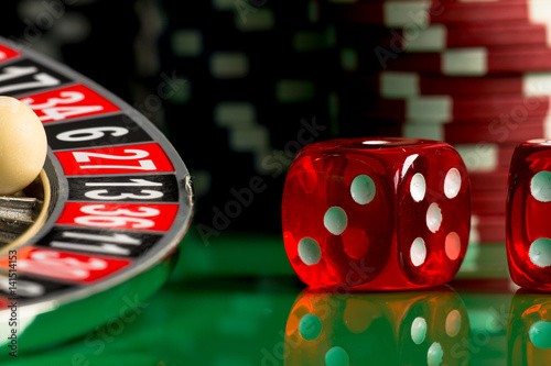 Poster Casino theme