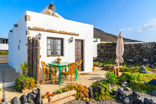 Beach house in El Golfo village, Lanzarote, Canary Islands, Spain