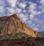 Capital Reef Cliff & Clouds