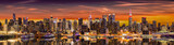 New York City panorama at sunrise. - 141582736