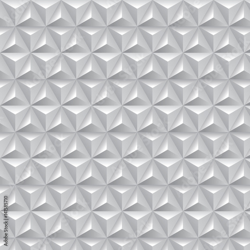 Geometric Op Art Pattern - 141585710