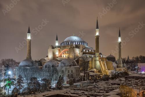 Poster Hagia Sophia Istanbul, Turkey