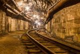 Railway in  the mine