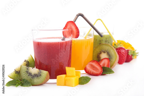Póster smoothie,fruit juice
