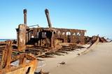 Maheno shipwreck at Fraser Island