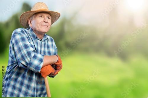 Farmer. Poster