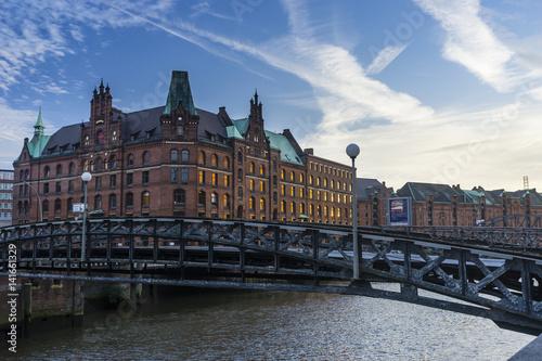 Poster Hamburgo