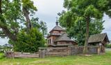 Stara drewniana cerkiew w Łukawcu