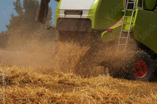 Poster Combine harvester